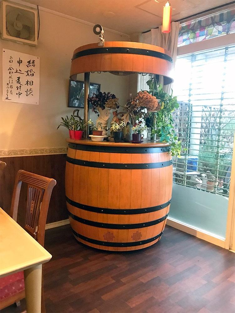 レストラン夢生の室内