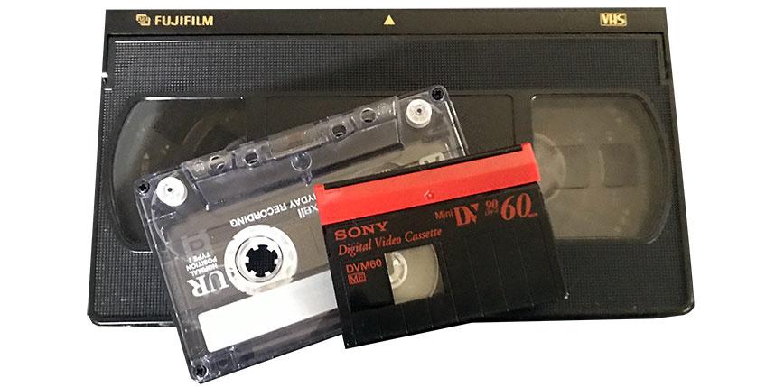 ビデオテープ・カセットテープ