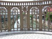 納屋橋欄干中央 福島正則公の紋所