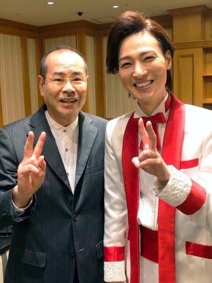 馬飼野俊一先生と山内惠介