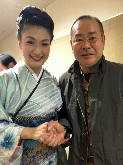 市川由紀乃と馬飼野俊一先生